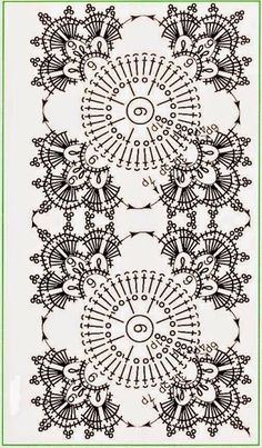 Patterns and motifs: Crocheted motif no. 710