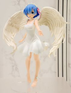 Anime Re:Zero Starting Life in Another World Angel Rem Oni Tenshi Figure No Box