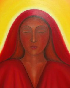 """""""Mary Magdalene of the Light"""" by Tanya Torres"""