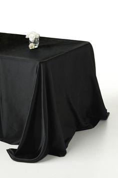 #black #tablecoth · Soccer PartyBlack SatinTableclothsMelbourneLinens