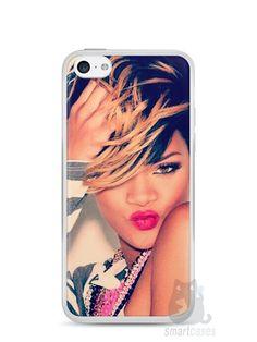 Capa Iphone 5C Rihanna #1 - SmartCases - Acessórios para celulares e tablets :)