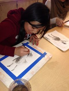Value paintings are a great way to introduce students to watercolor painting. This blog post takes you through the process.
