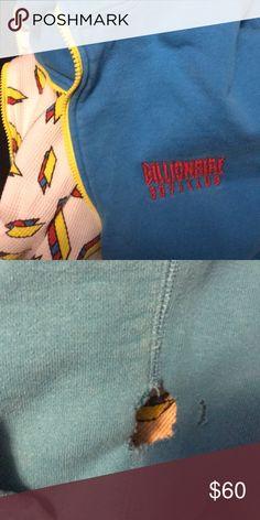 Billionaire boys club full zip hoodie 4/10 condition bbc beater Billionaire Boys Club Sweaters Zip Up