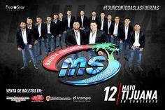 #Confirmado  Porque ustedes lo pidieron 5 Concerts! se los cumple: BANDA MS el 12 de mayo en Tijuana Más detalles PRÓXIMAMENTE...  FiveStar Concerts