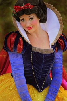 One of the prettiest Snow Whites, but I don't care for the new dress design!