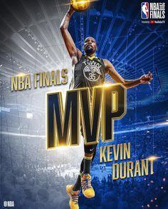 Finals MVP 2018 Kevin Durant of Golden State Warriors Kevin Durant, Durant Nba, Hakeem Olajuwon, Shaquille O'neal, Golden State Warriors, Kobe Bryant, Michael Jordan, Nba Finals 2018, Nba Quotes