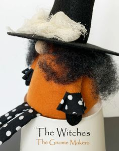 THE WITCHES Gnome Pdf Sewing Pattern Two Witch Pattern | Etsy