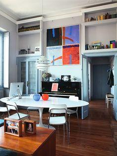 Arquiteto: Natascia Cappelazzo e Alberto Damiani Fotógrafo: Alessandra Ianniello Fonte: Elle Decoration Maio 2012