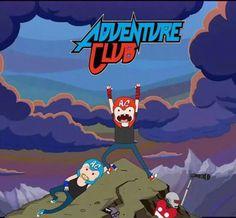 Adventure Club meets Adventure Time! AMAZING