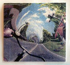 Bicycle Ride Hallucination psychédélique buvard Art par MypsyArt