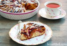 Mürdüm Erikli Kek Tart, French Toast, Snacks, Breakfast, Food, Morning Coffee, Cake, Appetizers, Pie