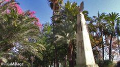 Monumento al poeta y periodista malagueño Salvador Rueda, construído de 1926 a 1931 por Francisco Palma García.