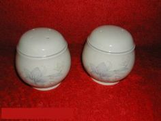 Noritake Kerry Spring #9133 Salt & Pepper by Noritake Keltcraft. $12.99. Dimensions: N\A. Mint Condition. Salt & Pepper - Tan Band With Floral Decoration - Palle Peach Body - Mauve Trim - Made In Ireland