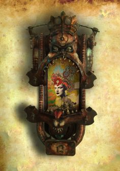 ⌼ Artistic Assemblages ⌼ Mixed Media, Journal, Shadow Box, Small Sculpture & Collage Art -