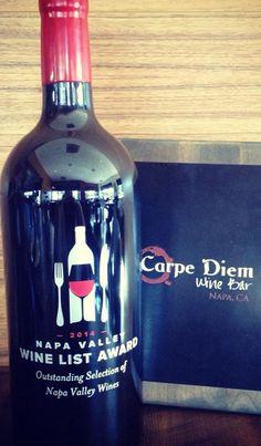 Carpe Diem Wine Bar -  Napa Valley, California