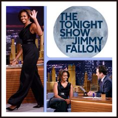 "First Lady #MichelleObama is set to make an appearance on tonight's April 2 telecast of ""The Tonight Show Starring #JimmyFallon (check your local listing) The first lady will discuss what's on tap for the celebration of the fifth anniversary of her Let's Move! initiative, including the #GimmeFive challenge. Let's Move encourages everyone to eat better, be more active and lead a healthier life."