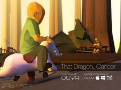 imagen That Dragon, Cancer [2016] Please play, or watch. It will change your life. Be thankful for your life and show your support to thoses who spends their days in a hospital room. Love and care for all ♡