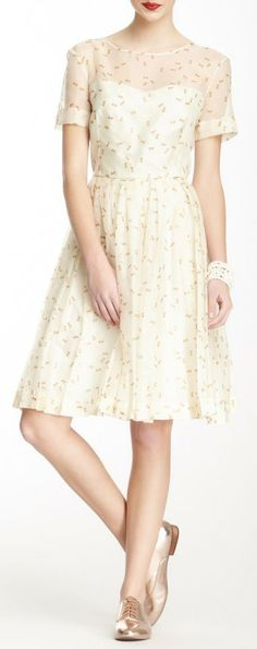 This Orla Kiely dress would be perfect for a small, informal wedding.