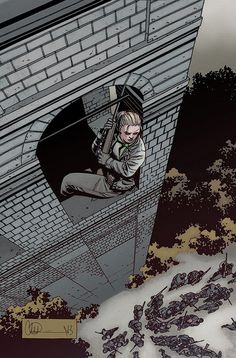 Andrea - The Walking Dead - Charlie Adlard