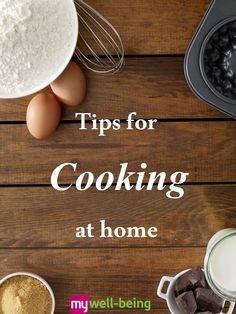 Tips for #Cooking at Home