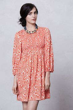 At Sea Mini Dress by Karen Walker for Anthropologie. Nyc Fashion, Fashion Outfits, Fashion Design, Fashion Trends, Hippie Dresses, Everyday Dresses, Mode Style, Dress Me Up, Casual Chic