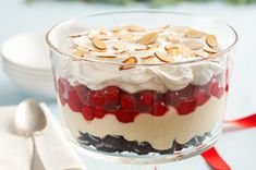 Cherry-Almond Trifle recipe via kraftrecipes.com