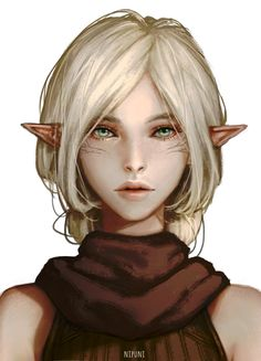Nalia Lavellan! an attempt at least and my very predictable playthrough - Nipuni