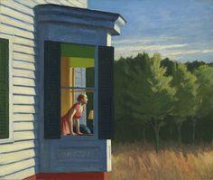 Edward Hopper, Cape Cod Morning 1950 on ArtStack #edward-hopper #art
