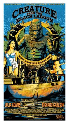 Creature from the Black Lagoon, Vertical