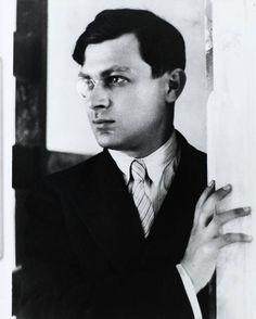 Tristan Tzara by André Kertész, 1926