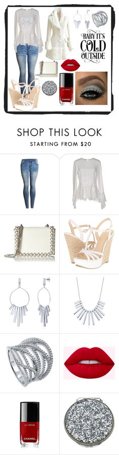 """""""Untitled #598"""" by bamagirl0320 ❤ liked on Polyvore featuring Oscar de la Renta, Kaviar Gauche, Jessica Simpson, BERRICLE, Chanel, Kate Spade and WithChic"""