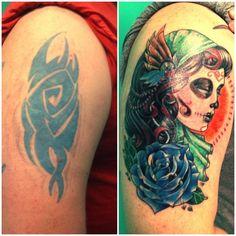 Hay tatuadores que solo se dedican a corregir los grandes errores de otros tatuadores. Esta técnica de tatuaje se llama el cover-up y consiste en un tatuaje que cubre uno anterior. Es algo difícil de lograr que un tatuaje nuevo logre cubrir al anterior y que no se note, pero estos grandes artistas del tatuaje […]