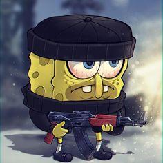 Wallpaper Spongebob, Funny Iphone Wallpaper, Cartoon Crazy, Dope Cartoon Art, Best Naruto Wallpapers, Cute Cartoon Wallpapers, Spongebob Drawings, Canvas Art Projects, Dope Cartoons