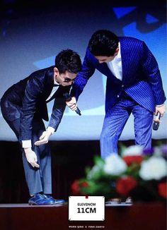 150809 #counterattackwebseries premiere in Beijing #Wangqing #Fengjianyu #QingYu ☺☺☺
