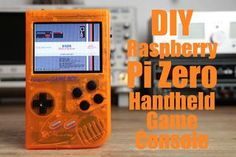 In this project I will show you how I used a Raspberry Pi Zero, NiMH batteries, a homemade over-discharge protection circuit, a rearview lcd and an audio amp to create a handheld game console that can play retro games. Let& get started! Electrical Projects, Electronics Projects, Electrical Engineering, Game Boy, Projets Raspberry Pi, Raspberry Projects, Computer Diy, Rasberry Pi, Diy Tech