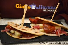 Mini piadine finger food via blog.giallozafferano.it
