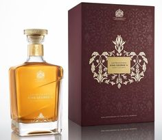 Limited Edition John Walker & Sons King George V For The Discerning Whisky Consumer - Lux Pursuits Tequila, Liquor List, King George V, E Spirit, John Walker, Scotch Whisky, Wine And Spirits, Chinese New Year, Sons