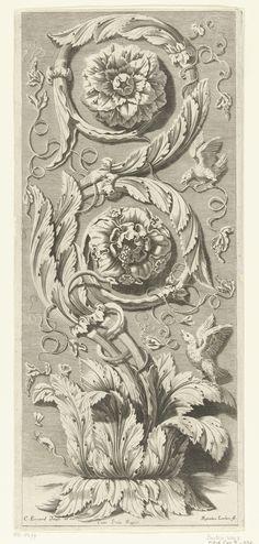 Verticale dubbele bladrank  Lochon, René