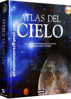 LIBROS DVDS CD-ROMS ENCICLOPEDIAS EDUCACIÓN PREESCOLAR PRIMARIA SECUNDARIA PREPARATORIA PROFESIONAL: ATLAS ILUSTRADO DEL CIELO