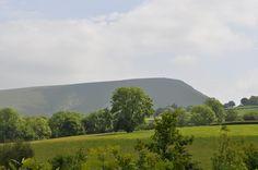 Looking in land from Aberhosan, Mid Wales.