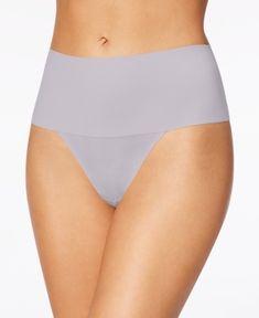 6b8164ee815 Spanx Women s Undie-tectable Thong SP0115 - Gray XS Zumba Fitness