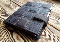Leather Planner A5 Adventure Journal Matted Leather Souvenir Travel Notebook  #MakeyStudio