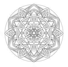 Adorable Flower Mandala Coloring Pages | Batch Coloring
