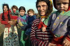 Romani (gypsy) family...
