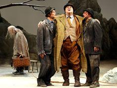 Waiting for Godot: John Glover, Bill Irwin, John Goodman, Nathan Lane in Samuel Beckett's existentialist classic,