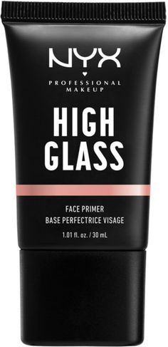 Nyx Professional Makeup High Glass Face Primer - Nyx Professional Makeup High Glass Face Primer You are in the right place about Makeup quotes Here - Make Up Primer, Glow Primer, Face Primer, Nyx, Perfect Kiss, Translucent Glass, Skin Regimen, Glass Skin, Makeup Quotes