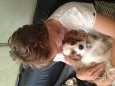 Liam with Tilly xxx