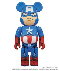 BE@RBRICK Captain America 400% Exclusive