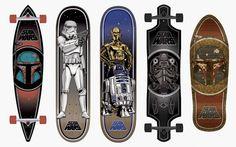 Star Wars : New Skateboards from Santa Cruz