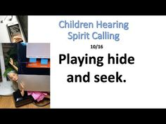 Playing Hide and Seek. 10/16 - YouTube Christian Devotions, Finding God, Daily Devotional, The Creator, Spirit, Children, Books, Youtube, Young Children